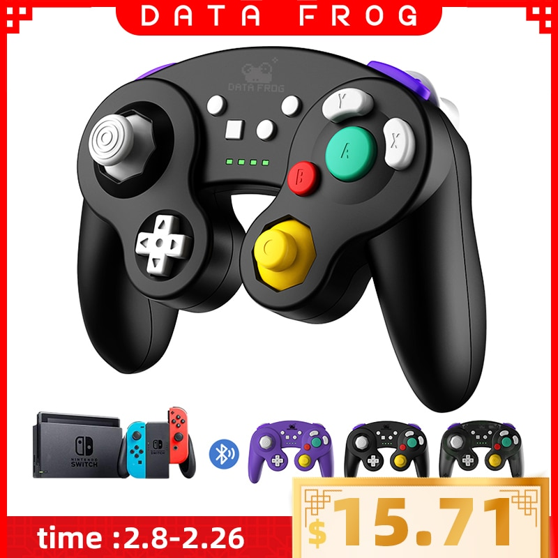 data frog 2 4g wireless game controller gamepad for ps3 xbox 360 android mini i8 keyboard optical mouse for android tv box pc DATA FROG Wireless Bluetooth Game Controller For Nintendo Switch Pro Game Joystick for PC /TV BOX/ Android Mobile Phone/PS3