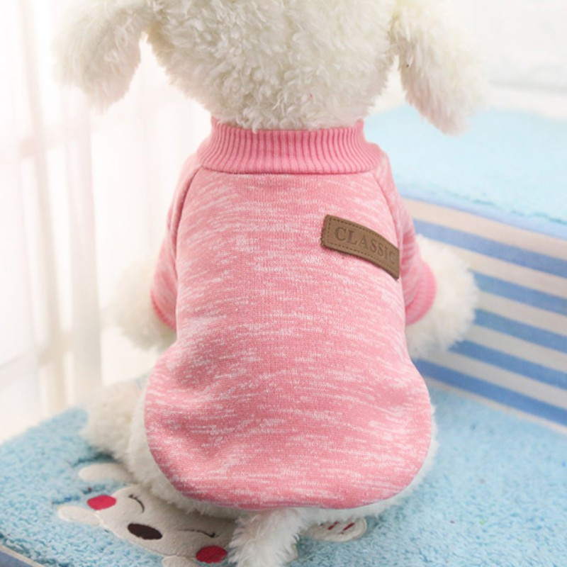 Dog Clothes Warm Puppy Outfit Pet Jacket Coat Winter Dog Clothes Soft Sweater Clothing For Small Dogs Chihuahua .