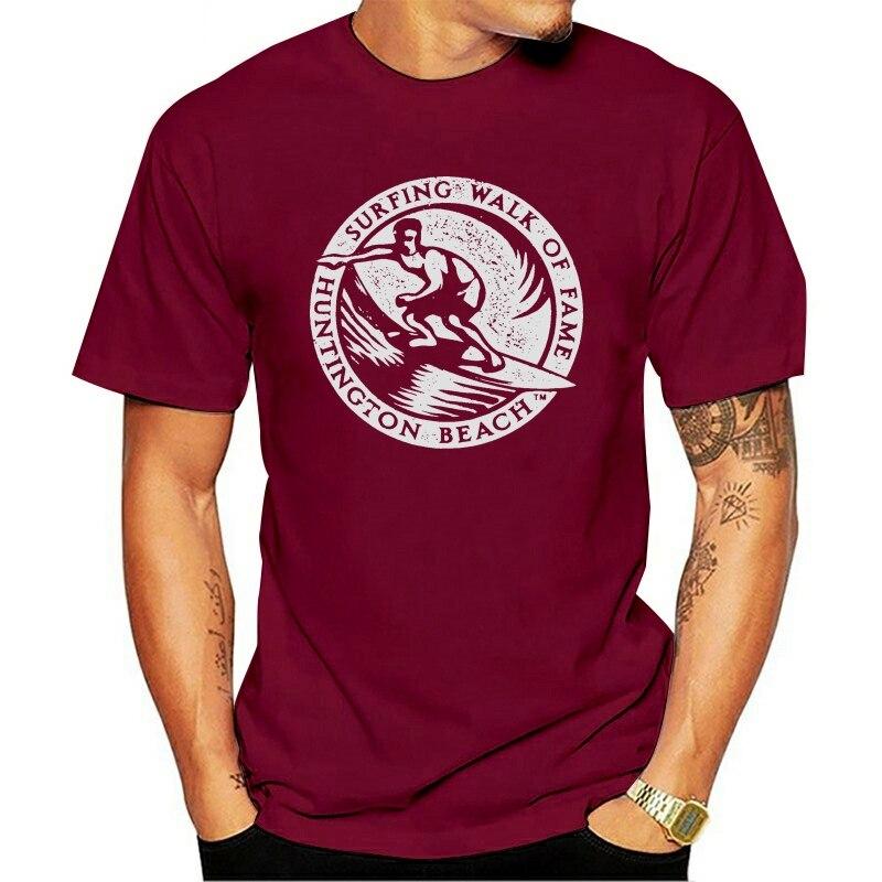 2021 camiseta de Huntington Beach Paseo de la Fama de surf Vintage...