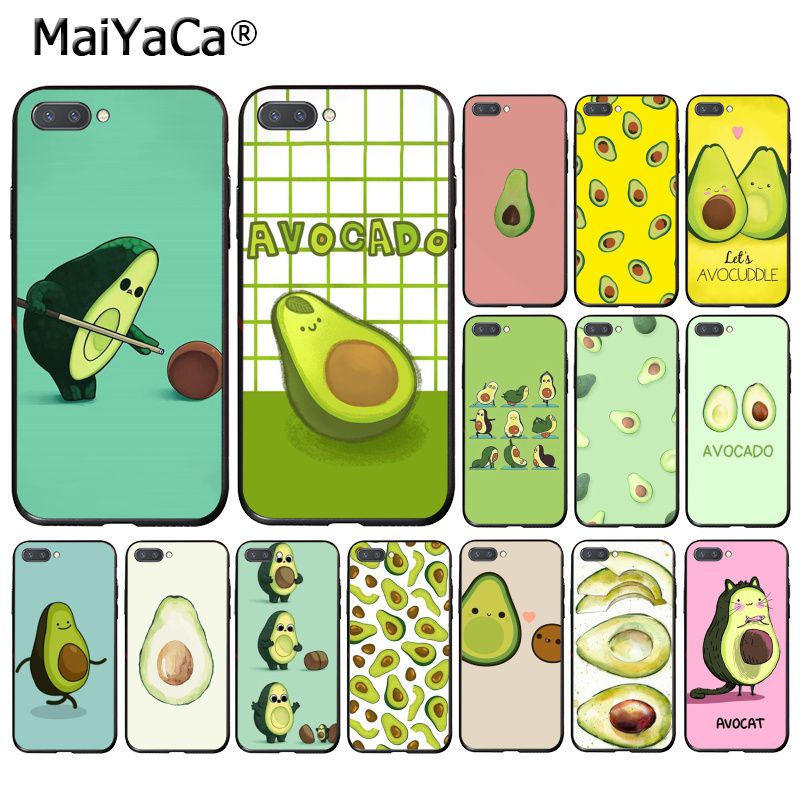MaiYaCa Cute Avocado Food   Phone Case For Huawei Y9 Y7 Y6 II Y5 II Y7 Prime 2018 2019