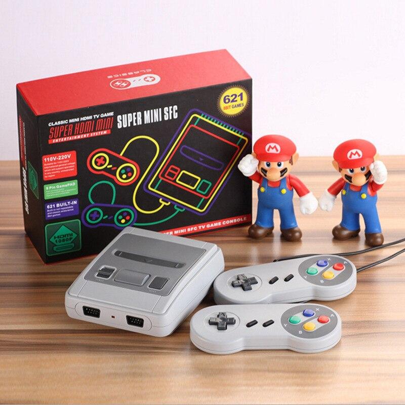 Coolbaby cross-border especializada express mini jogador de jogos de vídeo nes hdmi hd embutido 621 jogos retro jogo