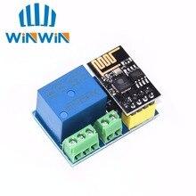 ESP8266 ESP-01 ESP-01S 5V WiFi relais Module choses Smart Home télécommande commutateur téléphone APP sans fil WIFI Module pour ARDUINO