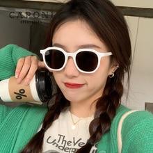 CAPONI Vintage Women's Sunglasses Polarized Brand Designer Trendy Shades Luxury Decorative Sun Glass