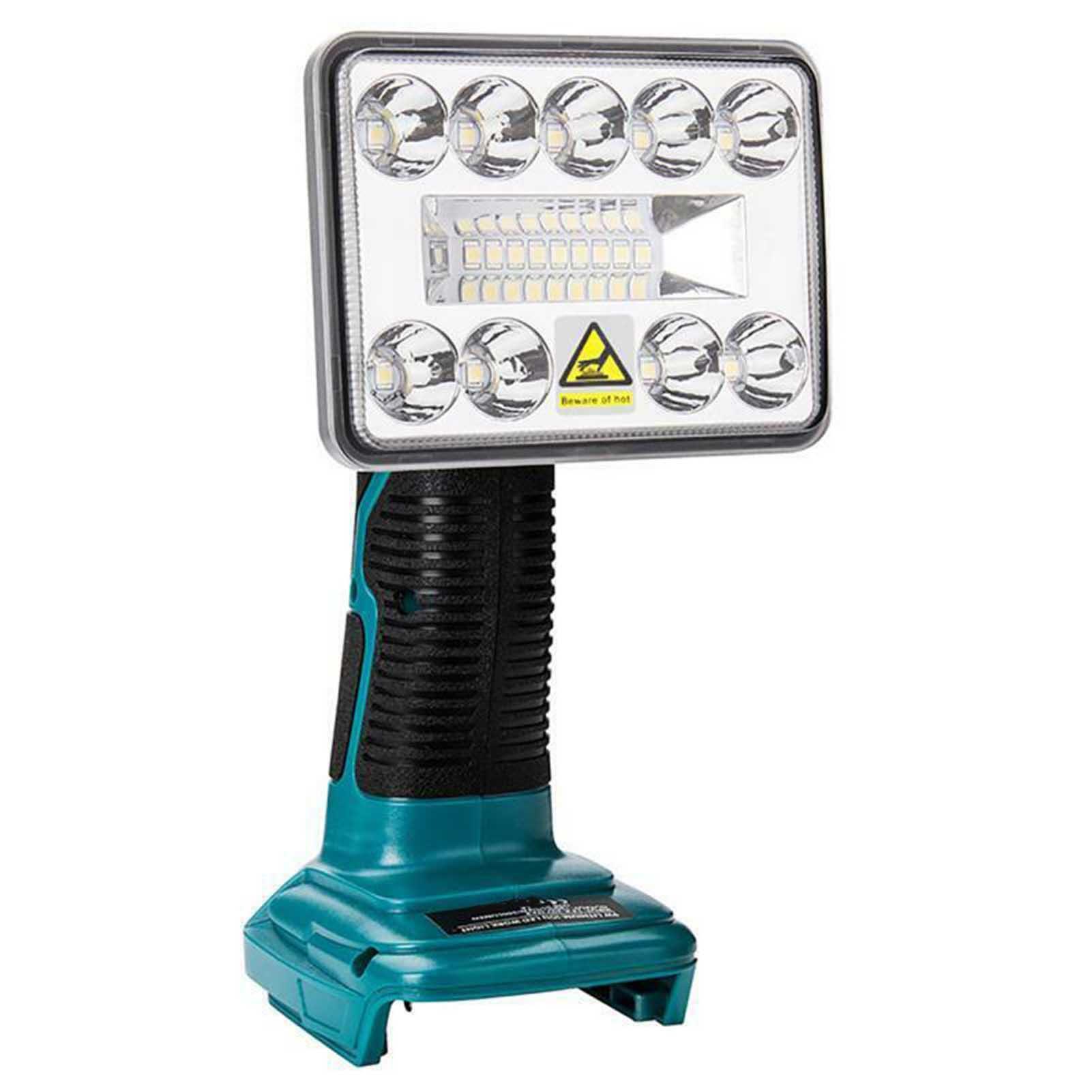 1000Mah 14.4-18 فولت مصباح ليد جيب الأضواء في الهواء الطلق العمل الإضاءة لماكيتا BL1430 BL1830 3 بوصة الأزرق