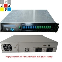Yatai catv 1550 optical amplifier 8 port 20 dbm wdm edfa optical receiver
