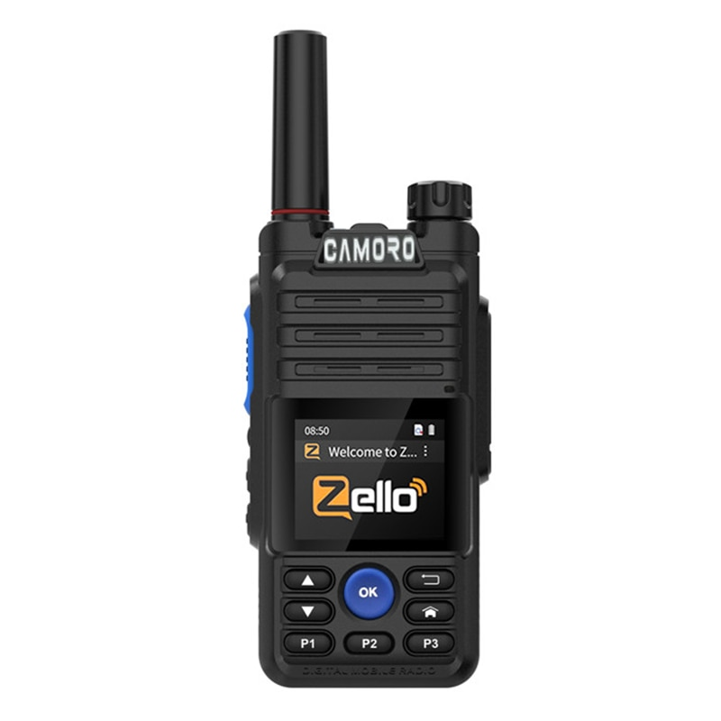 Camoro New Antenna Separation 4G Mini Zello Walkie Talkie with Wifi Gps Bluetooth Zello POC Radio An