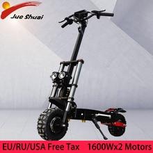 11 pouces Scooter électrique 60V 3200W Double moteur hors route E Scooter 80 km/h Double entraînement Scooter à grande vitesse Patinete Electrico Adulto