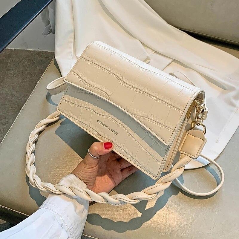 Stone Texture Luxury Brand Bag Ladies Bag 2020 New Designer Bag Ladies Fashion Handbag PU Leather Messenger Bag Free Shipping