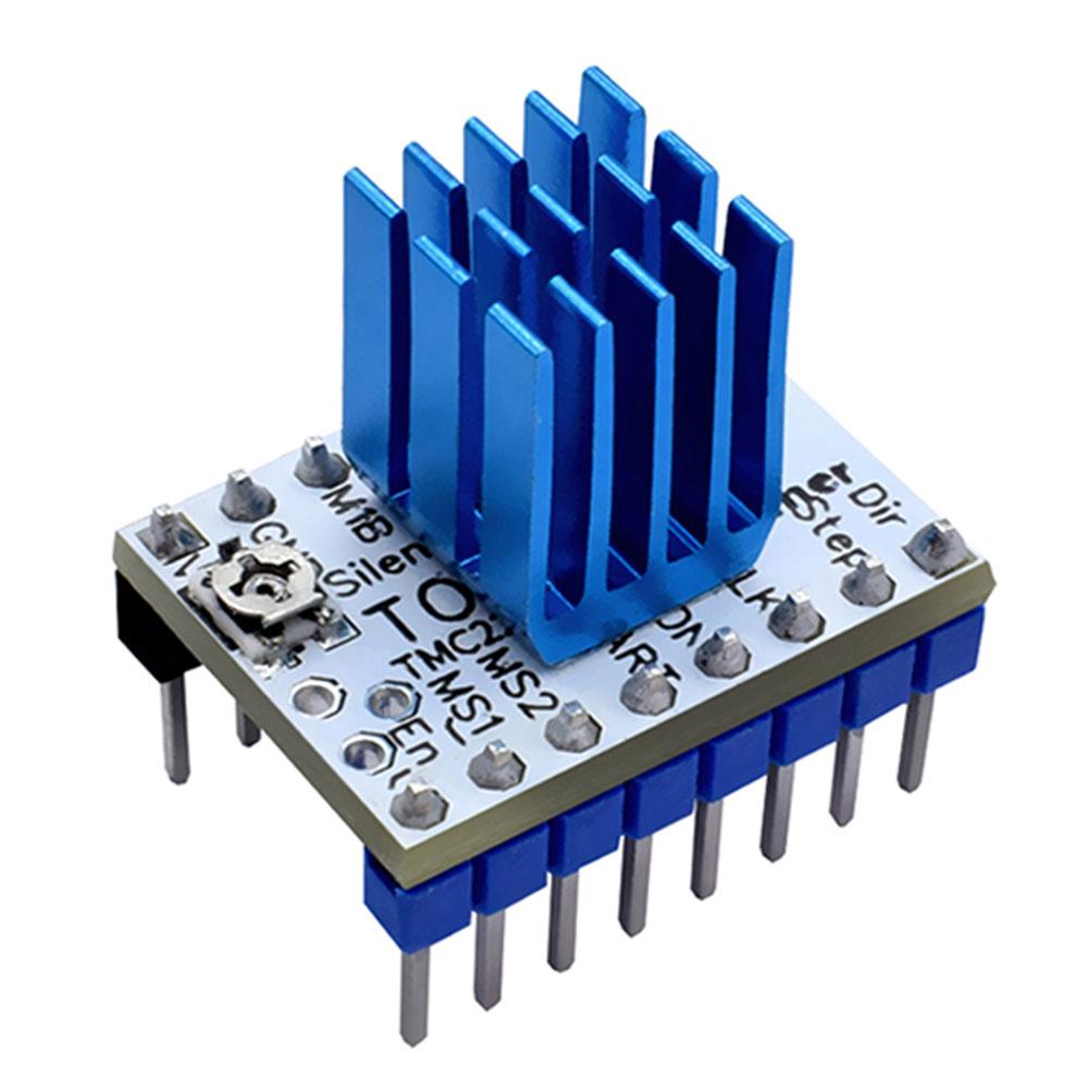 Reemplazo Ultra silencioso 3d parte de la impresora módulo de controlador mecánico potente soporte Motor paso a paso con disipador de calor para TMC2130 V1.1