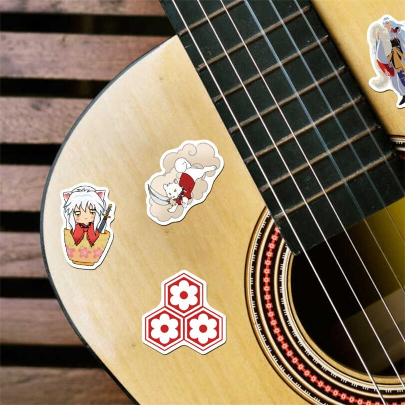 10/30 / 50PCS Cartoon Anime Inuyasha Stickers Waterproof Suitcase DIY Laptop Guitar Skateboard Toy Lovely Sticker Wholesale