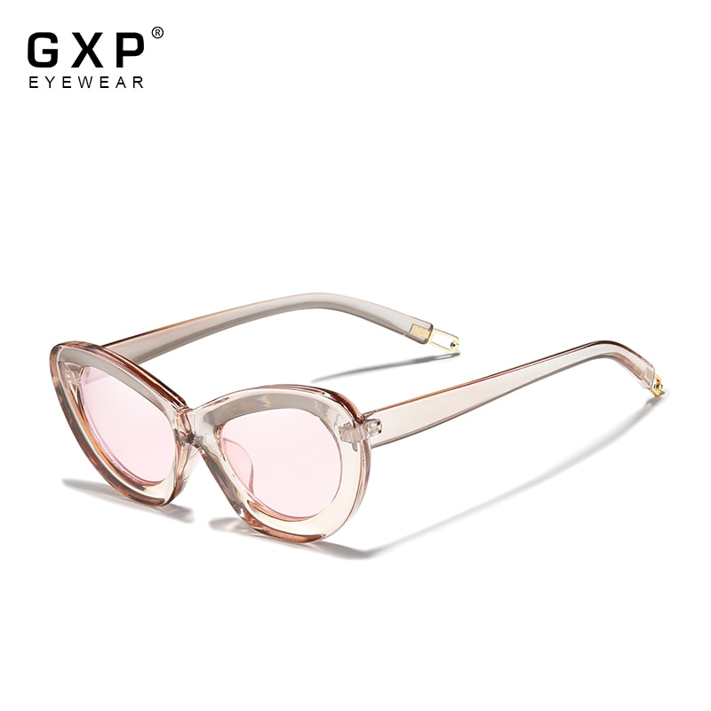 GXP 2021 Women's Glasses delicateness Sunglasses Gradient Polarized Lens Butterfly Round Sun glasses