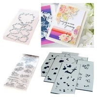 flower letter new metal cutting dies and stamps diy scrapbooking card stencil paper cards handmade album stamp die sheets