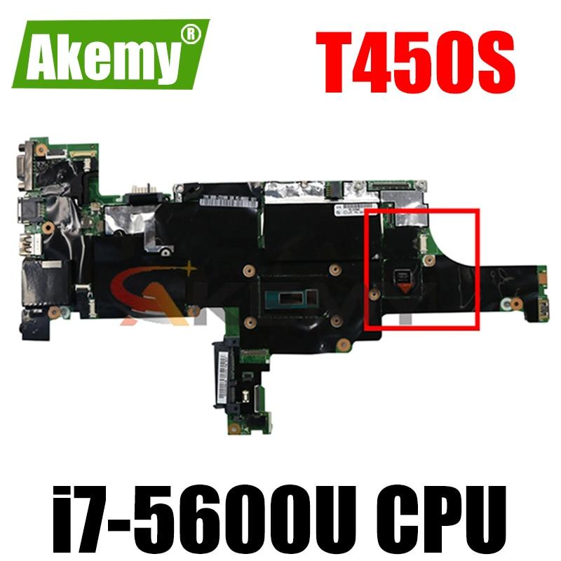 ثينك باد مناسبة ل T450S i7-5600U الكمبيوتر المحمول بطاقة الفيديو المستقلة اللوحة الأم. NM-A302.FRU 00HT772 00HT774 00HT768