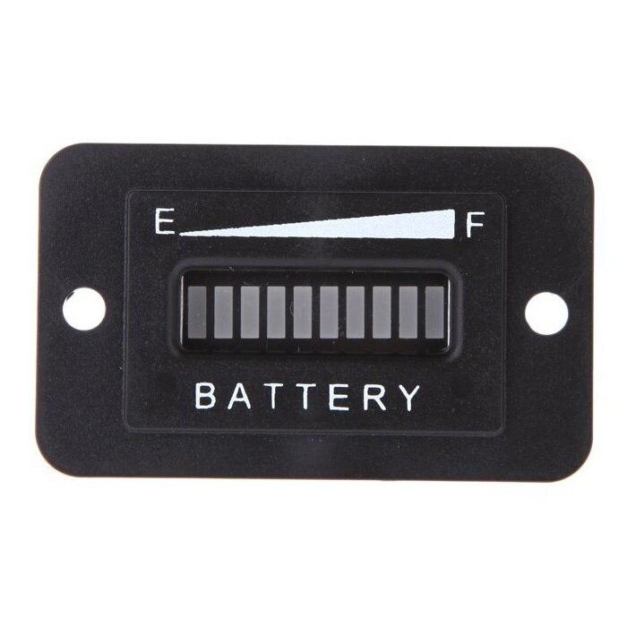 Carro de Golf de 36 voltios LED Digital batería estado carga indicador Monitor medidor negro
