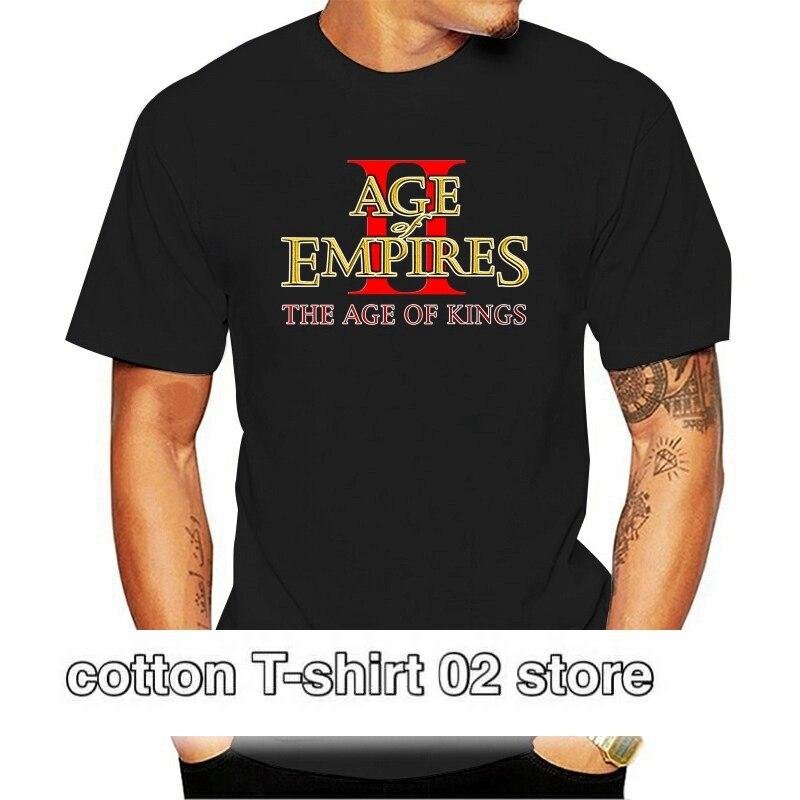 Camiseta de juego de edad de imperio II camiseta negra de todos...