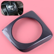 DWCX Carbon Fiber Style Interior Console Gear Shift Panel Cover Frame Trim Fit For Honda Civic 2006 2007 2008 2009 2010 2011 AT