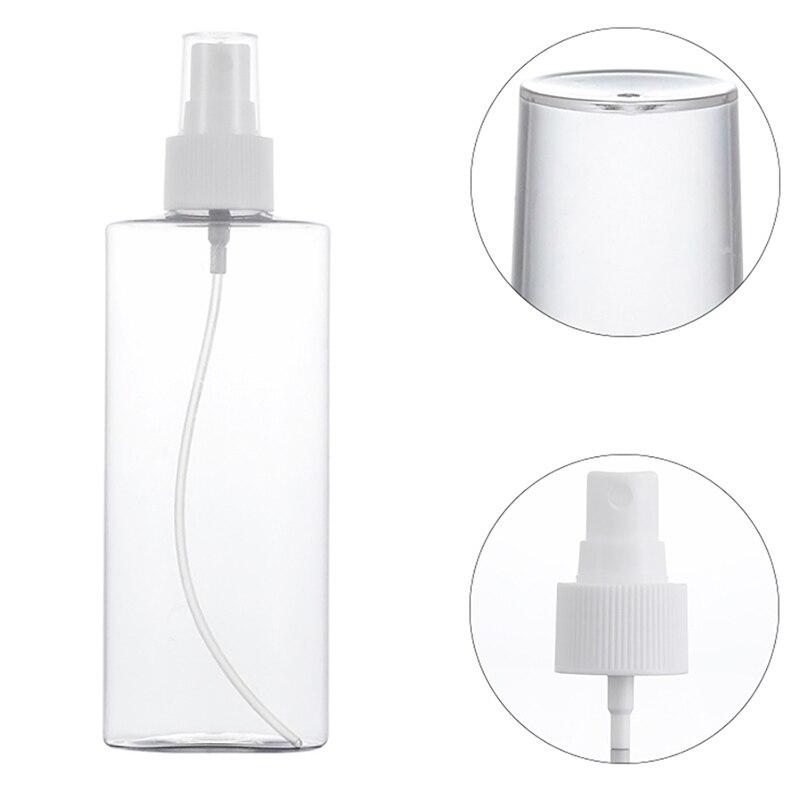 120/200ML Transparent Travel Makeup Spray Empty Bottles Portable Refillable Bottles Essential Oil Liquid Sprayer Atomizer