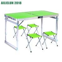Складной походный стол со стульями