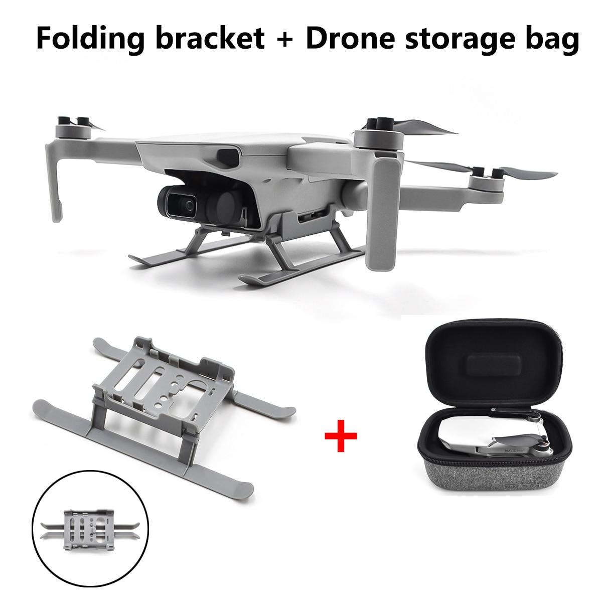 STARTRC Mavic mini heightened Anti-drop bracket /landing gear /extension bracket with drone storage