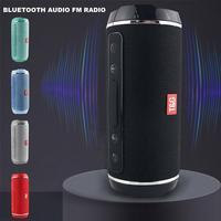 Bluetooth-колонки высокой мощности, водонепроницаемый стерео сабвуфер с поддержкой USB/TF/AUX, портативная уличная музыкальная шкатулка