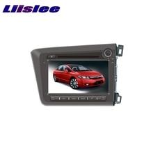 For Honda Civic Right Hand Drive 2012~2017 LiisLee Car Multimedia TV DVD GPS Audio Hi-Fi Radio Original Style Navigation