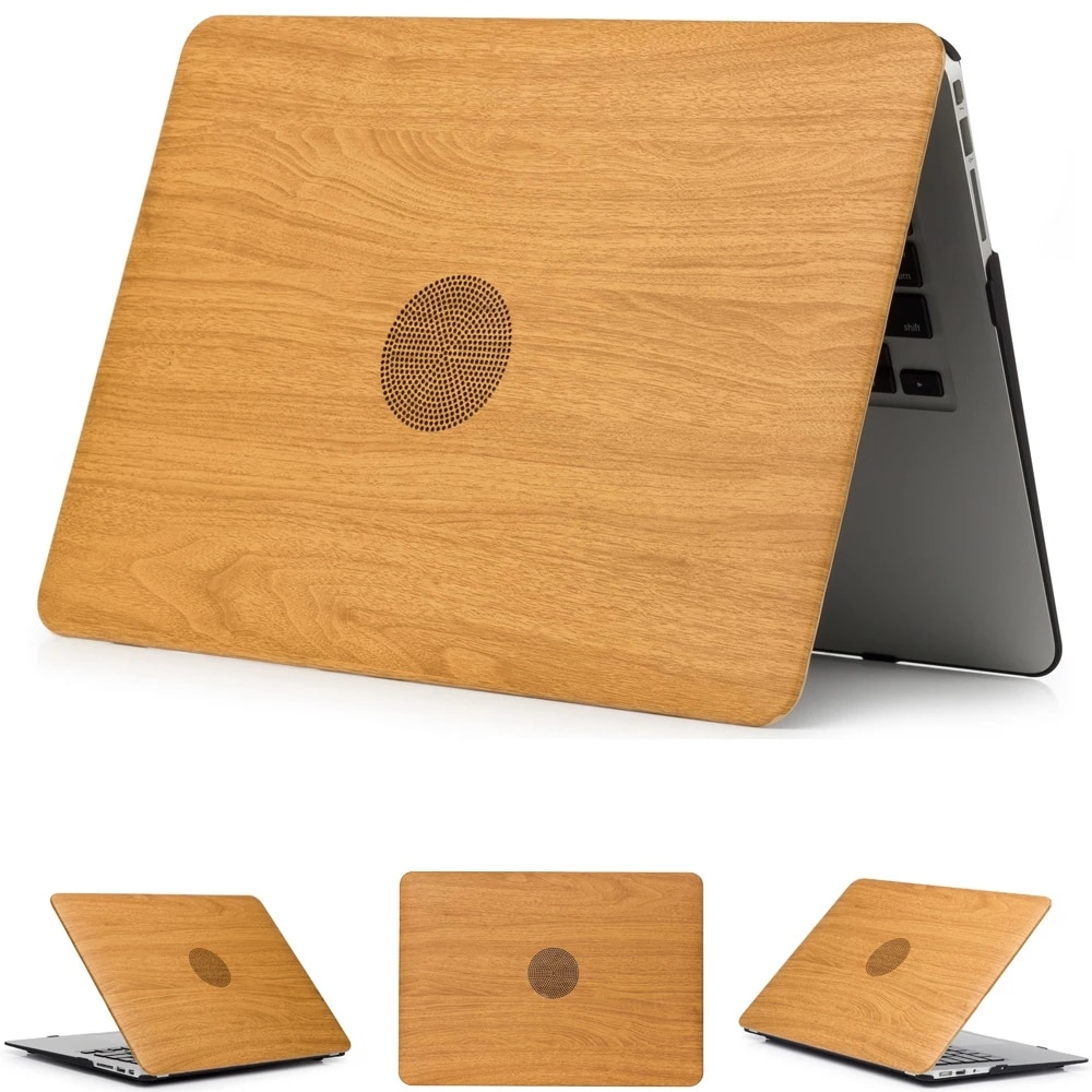 حافظة كمبيوتر محمول من الجلد A1278 A1286 لأجهزة Macbook Pro 13.3