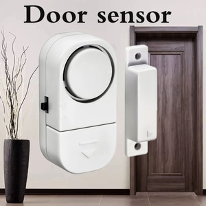 Home Alarm Sensor 90dB Independent Wireless Door Sensor Wireless Home Window Door Entry Anti Thief Security Alarm Gap Magnetic
