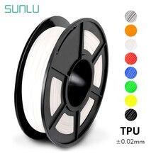 Best Selling Black TPU Flexible Filament 1.75mm Tolerance 0.02mm TPU Flexible 3D Printer Filament Can Print Children Toy & Shoes