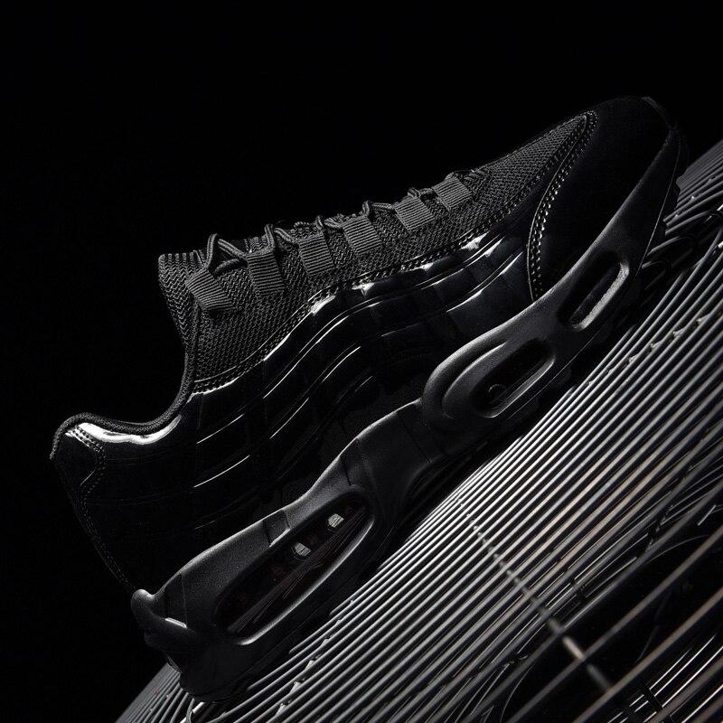 Luxo sapatos de ar dos homens designer alta qualidade tênis casuais respirável tênis corrida formadores moda absorção choque cesta homme
