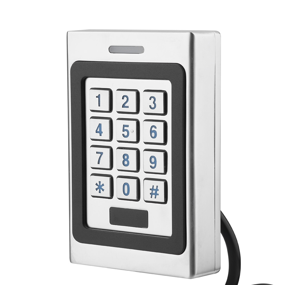 Smart Password Lock Waterproof RFID Card Door Access Controller Keypad With 2 Access Cards Security Door Access Control System​ sk3 ii direct factory pulse mode and toggle mode door access controller with wireless keypad