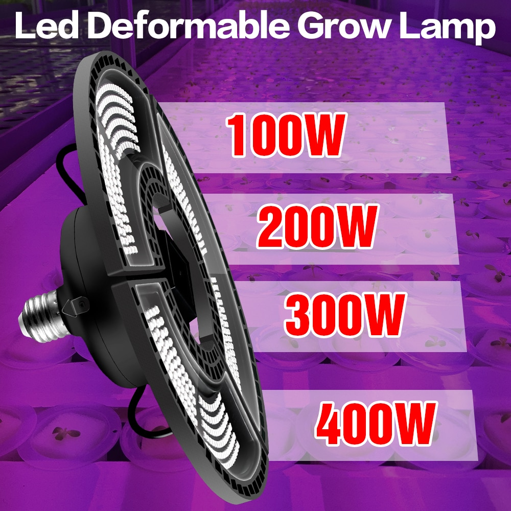 e27 led grow light white 100w 200w 300w 400w led plant light bulb 110v e26 led full spectrum growing lamp 220v greenhouse lamp Full Spectrum Grow Light LED Plant Growing Lamp E26 Hydroponic LED Light 100W 200W 300W 400W E27 Growth LED Bulb 220V Phyto Lamp
