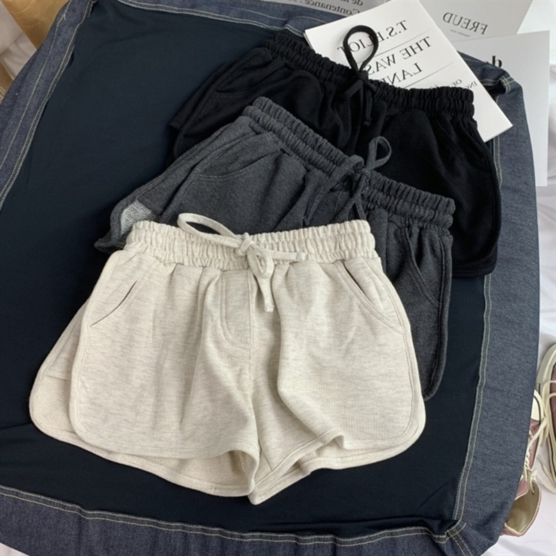 Shorts Women's Summer 2021 New High Waist Loose and Slimming Casual Home Hot Pants Outdoor All-Match
