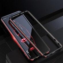 Чехол для Sony Xperia XA2 Ultra, металлическая рамка, двухцветный алюминиевый бампер, защитный чехол для Sony Xperia XA2, чехол