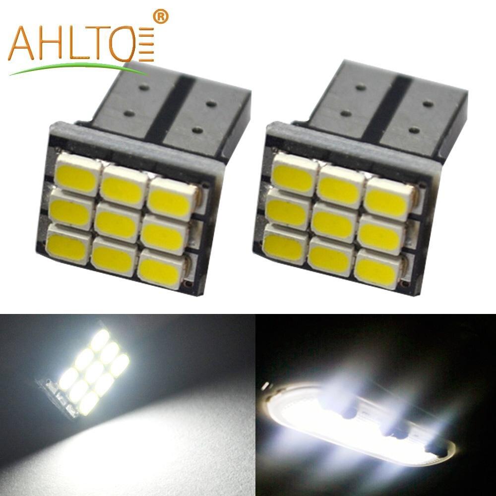 2 pces carro led branco t10 w5w 1206 3020 9smd carro led auto marcador lâmpada lâmpada interior luz de afastamento 12v dc luz de estacionamento lâmpadas laterais