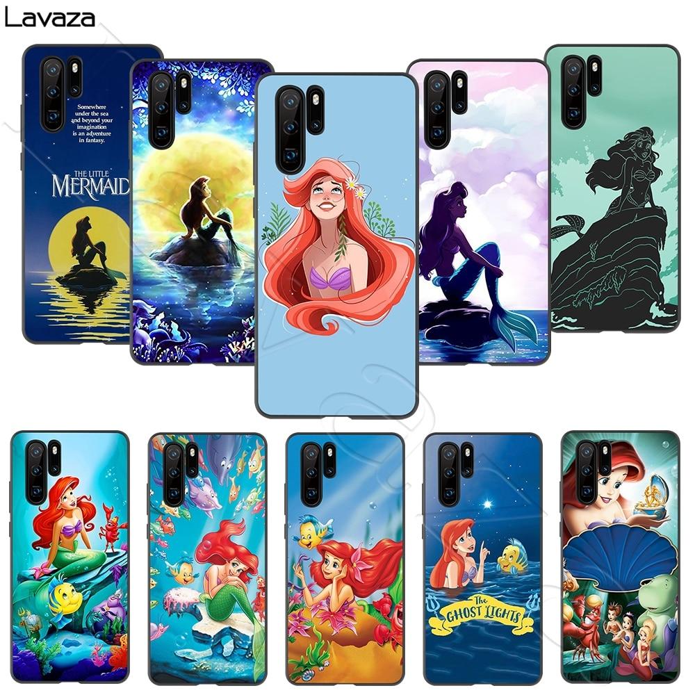 Lavaza Princess Ariel Little Mermaid Case for Huawei Honor Nova 6 7 P40 30 V30 Pro Max SE 4G 5G