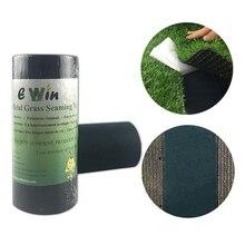 Rollo para manualidades de jardín de césped Artificial resistente al agua para reparación de telas no tejidas cinta adhesiva de costura