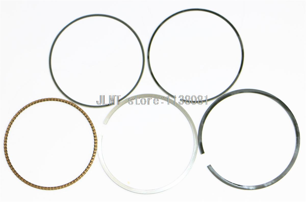 Juego de anillos de pistón de motocicleta para HONDA SONIC 13101-KGH-900 1 Cyl Tamaño del diámetro 58 mm STD