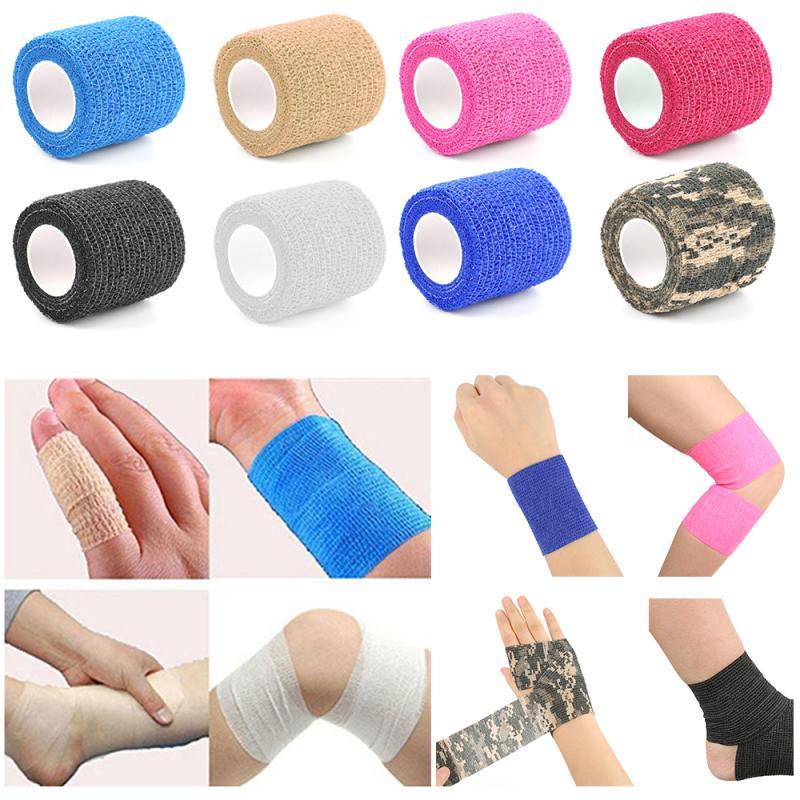 Vendaje elástico autoadhesivo, sujeción para tatuajes, envoltura de tapacubos, cinta de gasa deportiva, vendaje de fijación para dedos SK2