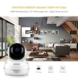 INQMEGA Webcam Network Wireless 1080P Video Camera  Smart Home Wifi Webcam