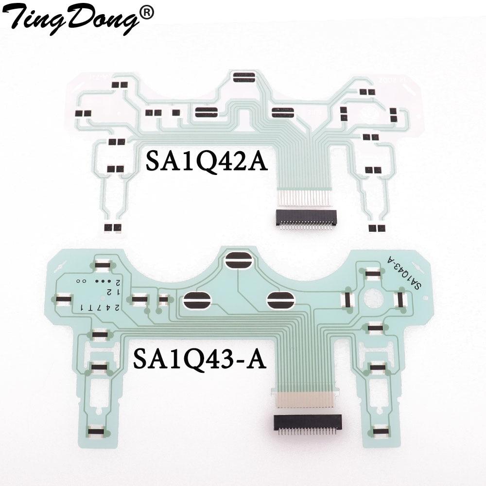Печатная плата PCB лента для Sony для PS2 проводящая пленка для контроллера пленка клавиатура гибкий кабель SA1Q42A SA1Q43-A с 18 19Pin блоком