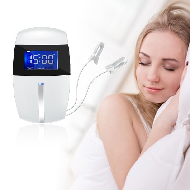 2021 جديد معدات العلاج الطبيعي CES القلق جهاز علاج الاكتئاب محفز الصداع النصفي حل المشكلات جهاز مساعدة النوم