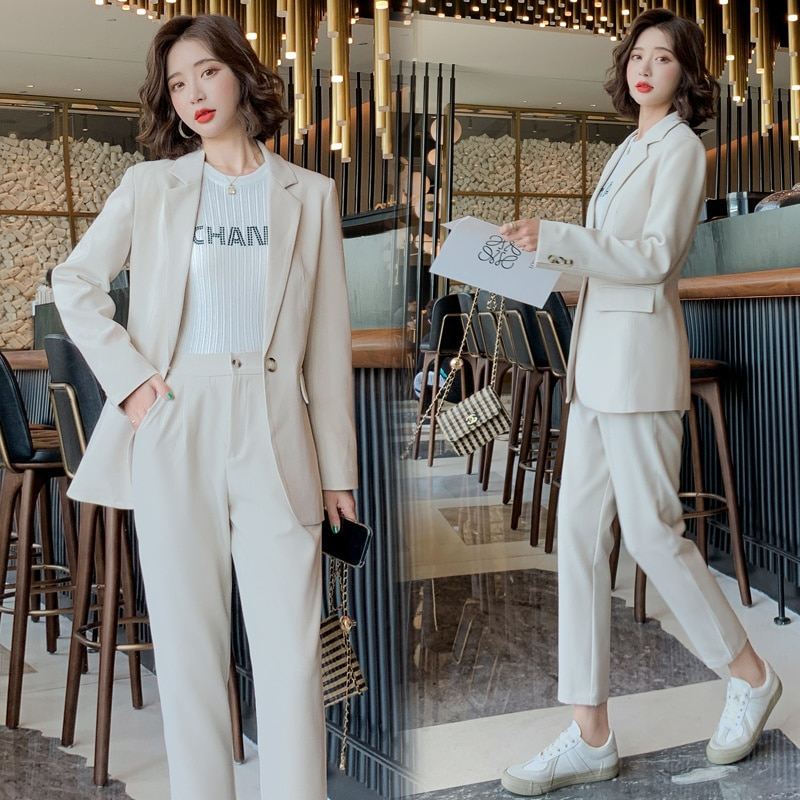 Suit Women's Spring and Autumn New Fashion Casual High-End Suit Jacket Korean Style Temperament Twin