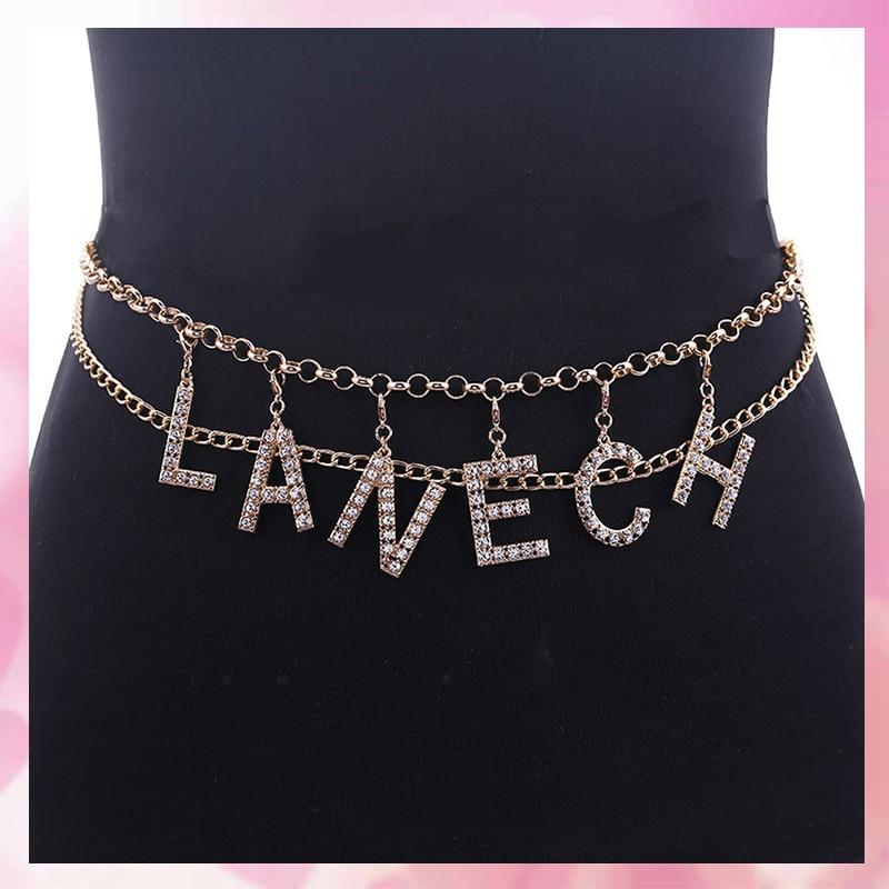 Cintos de cintura para mulheres lady party metal largo cintura feminina marca designer senhoras cinto elástico para vestido chrismas
