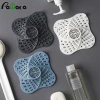 Bouchon anti-blocage des cheveux avec couvercles de drainage de sol  accessoires de salle de bains et de cuisine avec piege a bouchons  douche  filtre devier