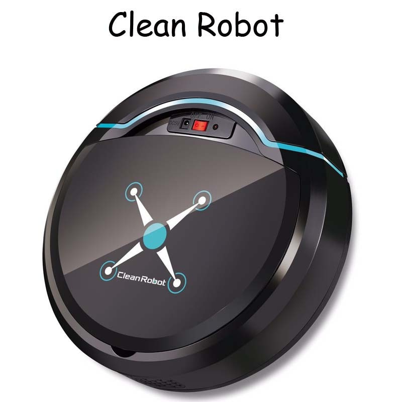 Перезаряжаемый робот для автоматической очистки умный подметальный пол робота от пыли и грязи волос Автоматический робот-чистильщик для домашних электрических пылесосов