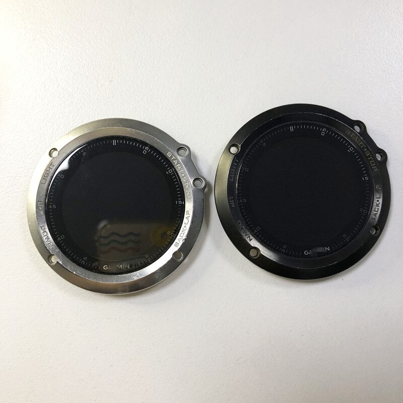 الغطاء الأمامي للقضية مع زجاج شاشة LCD لاستبدال Garmin Fenix 3 HR Fenix 3 الياقوت ساعة بـ GPS
