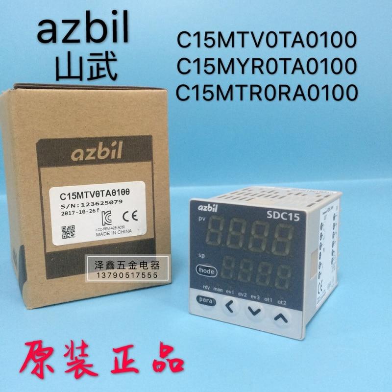 Original azbil Yamatake temperature control table SDC15 C15MTV0TA0100 C15MTR0TA/MTR0RA0100