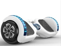 electric skateboard two wheel smart self balancing scooters drifting board with led light transporter%e2%80%a6