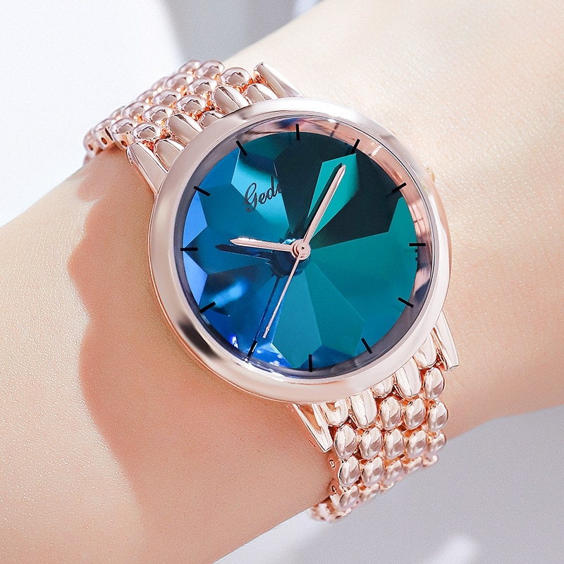 2021 Rose Gold Watch Women Watches Ladies Stainless Steel Women's Bracelet Watches Female Clock Relogio Feminino Montre Femme