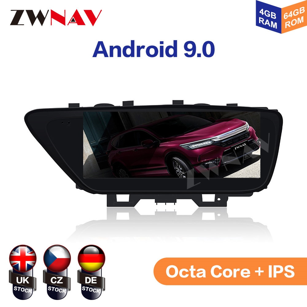 """10.25"""" Android 9 4+64G IPS Screen 8 Core For Lexus ES 2013 2014 - 2017 Car DVD Player GPS Multimedia Radio Audio Stereo"""